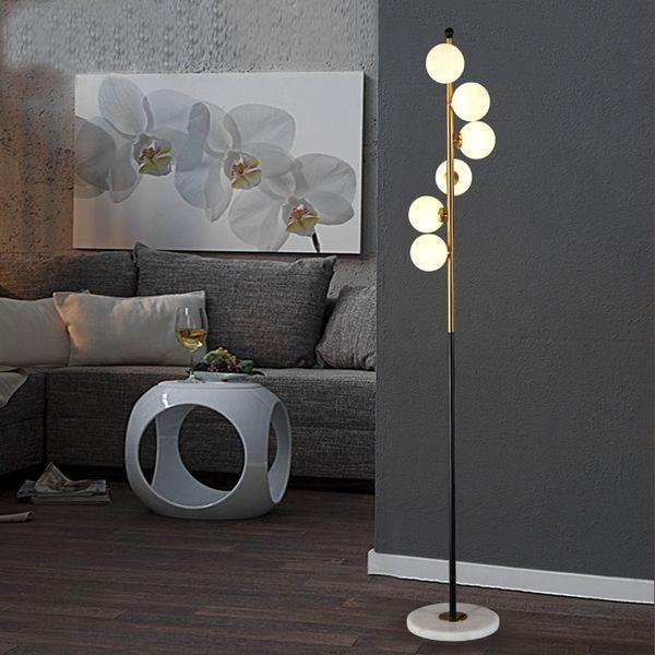 İskandinav post-modern cam zemin hafif endüstriyel rüzgar basit ev ferforje mermer oturma odası yaratıcı otel çatı zemin lambası L123