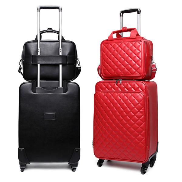 GraspDream Personal password box Luggage bag Korean version small fresh Trolley Suitcase women's box 16 20 24 inch Travel bag