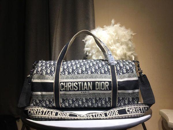 De calidad superior para hombre diseñador de viaje bolsa de equipaje de los hombres totes keepall bolso de cuero bolsa de lona Sac 2019 bolsas de diseñador de moda