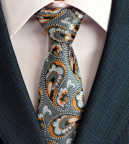 Classic Silk Men Tie Plaid Neck Ties 8cm Black Blue Ties for Men Formal Wear Business Suit Wedding Party Gravatas