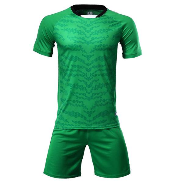 Vert Football Maillots Hommes Lastest Hot Sale Soccer Jersey Vêtements d'extérieur Couleur de football Vêtements de haute qualité FC