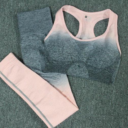 Dunkelgrau Pink Set