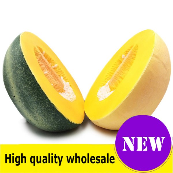 top popular Squishy huge Hami melon High quality Jumbo Slow Rising Soft Oversize Phone Squeeze toys Pendant Anti Stress Kid Cartoon Decompression Toy 2020
