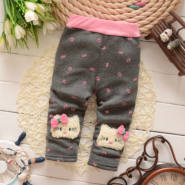 good quality baby girls pants autumn and winter thicken warm pants leggin infantil for girls trousers children linen pants