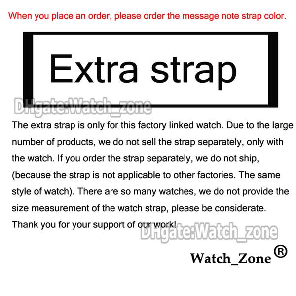 Extra strap(Please Note Color)
