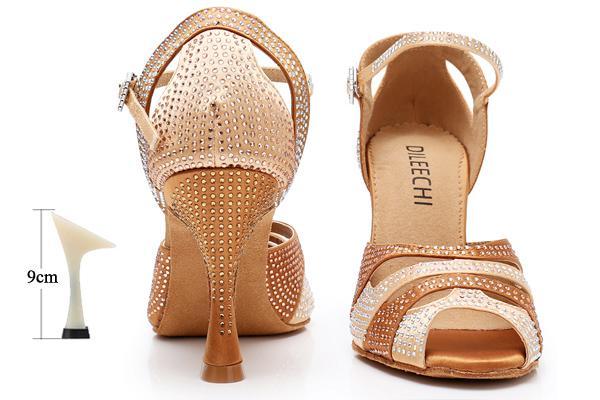 bronze heel 9cm