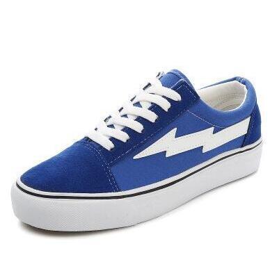 moccas Couleurs Top Revenge X Storm Old Skool Designer Cavnas Sneakers Femmes Hommes Low Cut Skateboard Rouge Bleu Blanc Noir Souliers Chaussures de course