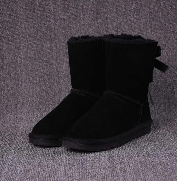 Free shipping winter Australia Classic snow Boots High Quality WGG tall boots real leather Bailey Bowknot women's bailey bow Knee Boots shoe