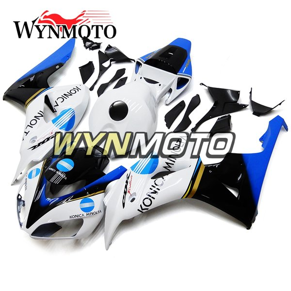 ABS-Spritzgussabdeckungen Full Motorrad Verkleidung Kit Für Honda CBR1000RR 2006 2007 06 07 Bike Panels New-Blue White
