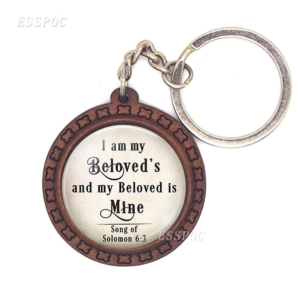I Love You Forever Photo Dome Glass Cabochon Wood Key Ring / Key Chain For  Promotion And Sales Gifts Make Your Own Keychain Kingdom Hearts Keychain