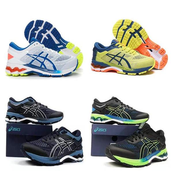 GEL - KAYANO 26 pequena hipocampo Speed Trainer homens correndo Sapatilhas Speed Trainer Meias Running Shoes menina calça as sapatilhas de euros 40,5-45