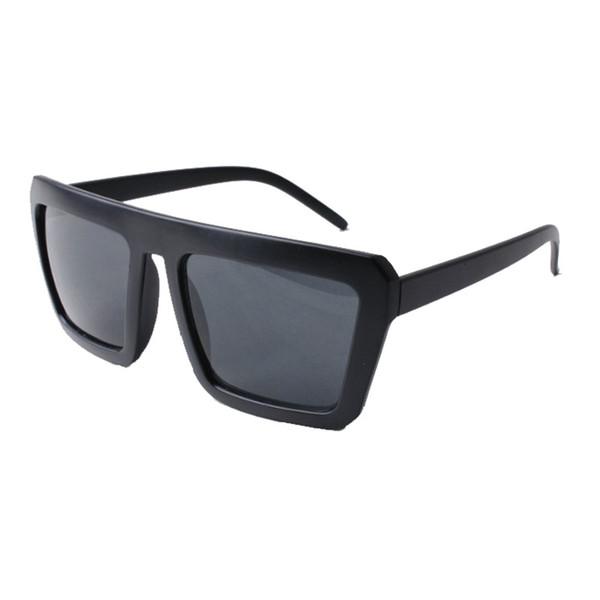 Lunettes de soleil rouges noires à la mode tendance LUNETTES DE RÉTRO RETRO lunettes de soleil pour hommes et femmes général Street photo frame