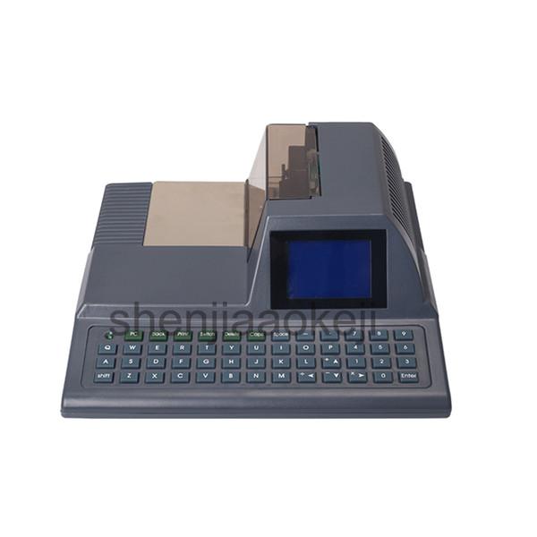 Checkwriter DY-2015 Controllo stampante inglese Controllo stampante Hong Kong Malaysia Singapore Automatic Checking Machine 1pz
