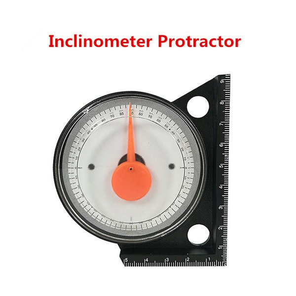top popular Mini Inclinometer Protractor Tilt Level Meter Angle Finder Clinometer Slope Angle Meter With Magnetic Base 2021