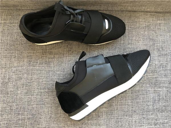2018 Paris TASARIMCI SNEAKERS Casual Ayakkabı erkek KADIN SPOR MARKA RUNNERS Nefes Günlük Ayakkabı Defile Elbise Tenis