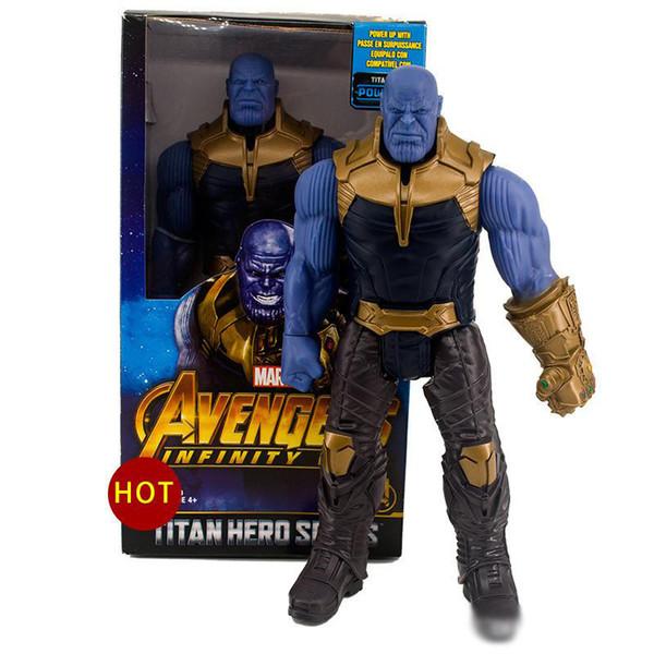 2019 nuovo arrivo Avengers 3 Marvel Movies Action Figures 30CM Hulk Thanos Hulkbuster Activity dolls model toys