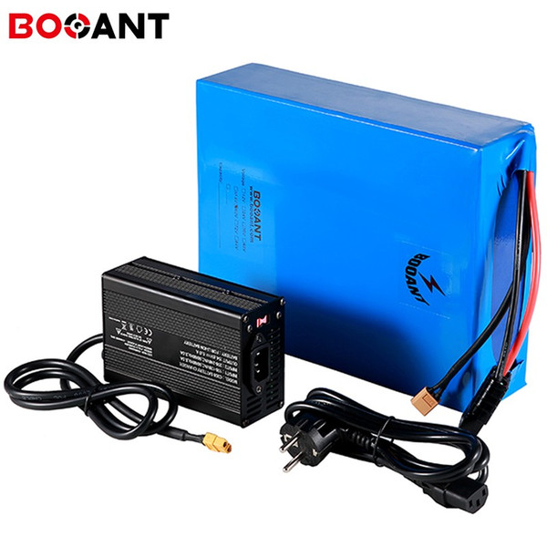 52V 30Ah Lithium Li-ion Battery Pack Fit 52V1500W  EBike Motor with Charger BMS