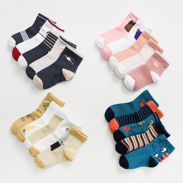 Knee High Casual Stockings Long Socks Toddler Kid Baby Girl Breathable Sock LC