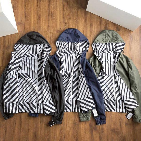 Mens Jaquetas Marca de Moda Jaquetas Esportivas Moda Unisex 2019 Nova Chegada Das Mulheres Dos Homens Jaqueta Casual Streetwear Jaquetas Ao Ar Livre