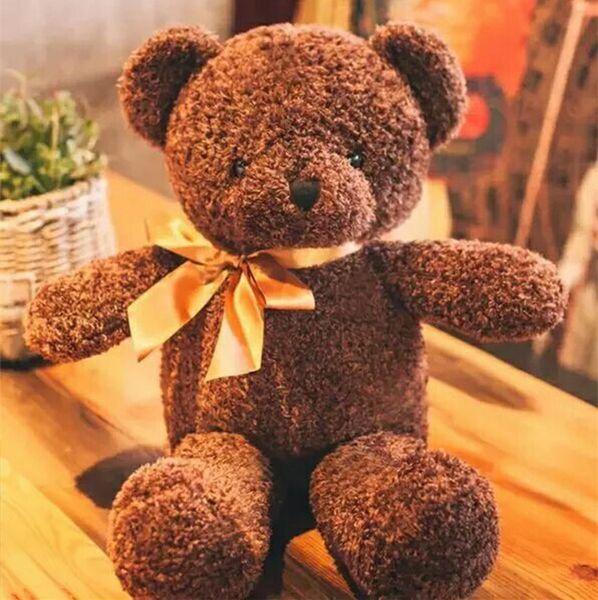 20170728 50CM Hot Sales Little Teddy Bear Plush Toys Doll Birthday Gift To Girls Girl Friend Free Shipping