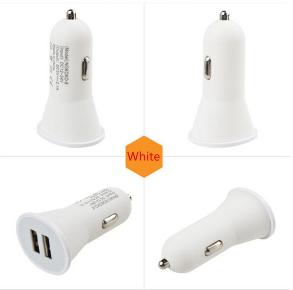mobile cell phone Car charger power adapter Dual usb ports 2.1A+1A adaptor for iphone samsung galaxy s6 s7 mp3 gps