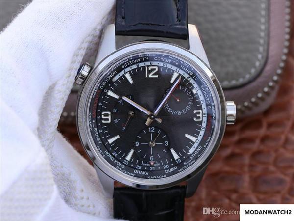 New TWA norte Chen caso de tamanho relógio série de luxo 42 milímetros caixa de aço 316L 936A / 1 relógio automático movimento de luxo mecânica