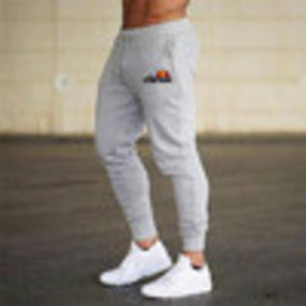 best selling mens designer sweatpants 95% cotton sports cargo pants for men gym Fitness Exercise Solid pants leisure pencil pants jogging6NGGA