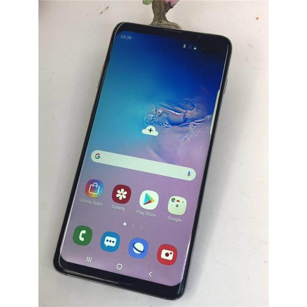 New goophone S10 S10+ smartphones Android 8.0 octa core 4G RAM 128G Shown 4G LTE 6.5 inch HD unlocked dual sim phones Free DHL