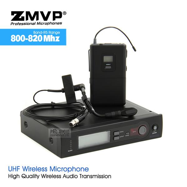 ZMVP SLX14 WB98 UHF Professional Karaoke Wireless Microphone System with SLX Bodypack Transmitter BETA98 H/C Lavalier Clip Mic