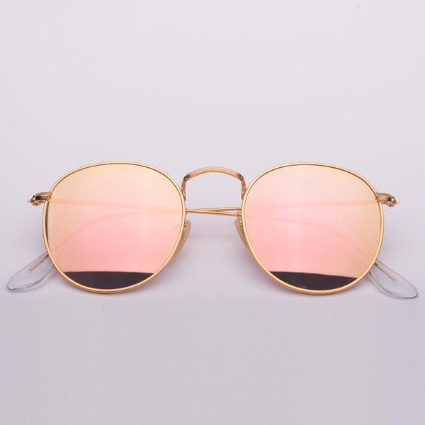 Espelho de cobre e ouro 112 / Z2