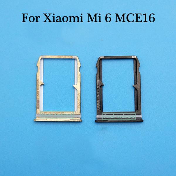 For Mi6 Mi 6 MCE16 Sim Tray Micro SD Card Holder Slot Parts Sim Card Adapter