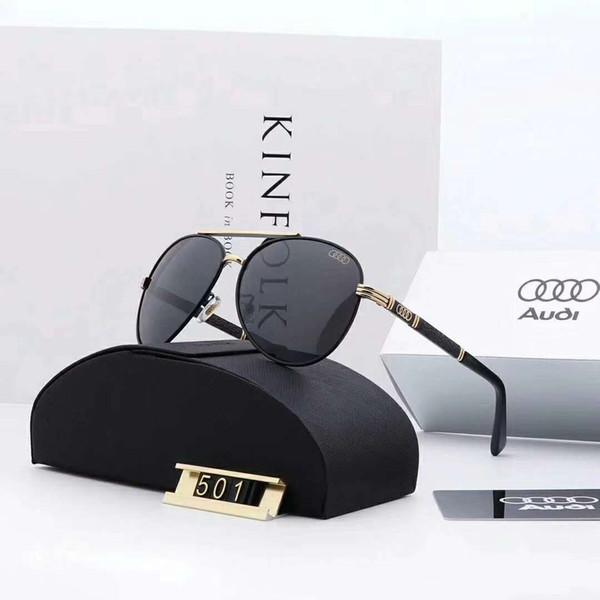 Высокое качество поляризованные дизайнерские солнцезащитные очки для мужчин роскошные солнцезащитные очки бренд Sunglass МОДА СТИЛЬ летние мужские стекла UV400 с коробкой и логотипом