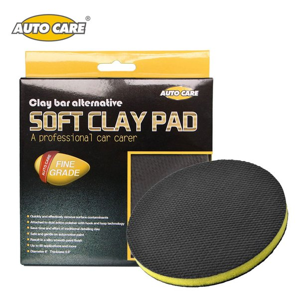 best selling cleaning Autoe Cleaning Sponges Car Polishing Clay Pad Auto Magic Clay Bar Pad Car Detailing Product Before Wax