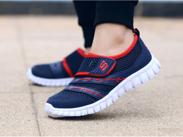 2019 new style Boys girl shoes casual fashion Breathable and comfortable Net cloth shoes exercise Boys running shoes