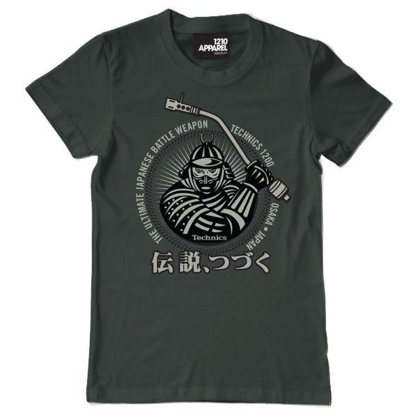 Technics / Dmc T-shirt Descuento por mayor Dj Nueva marca de moda - Ropa Hip - Hop Splicing Simple Tee Tops camisetas impresas en 3D
