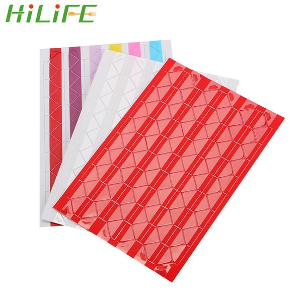 HILIFE PVC Photo Corner Sticker Photo Albums Frame Decoration Scrapbooking 102 pcs/lot DIY Colorful Corner Paper Stickers