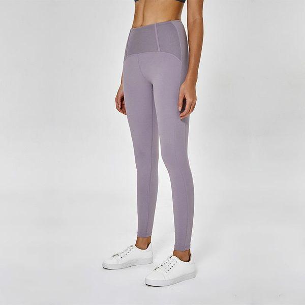 Lu-68 2019 nicht durchsichtig hohe taille frauen yoga hosen spandex sport gym wear leggings elastische fitness dame insgesamt volle strumpfhosen