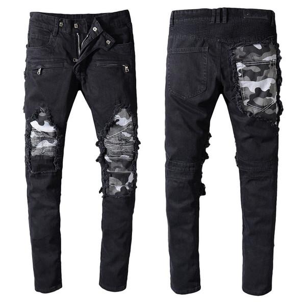Mens Designer Pants Designer Long Ripped Young Individuality Mens Designer Jeans Hot Quality Fashion Biker Jeans for Mens Jeans