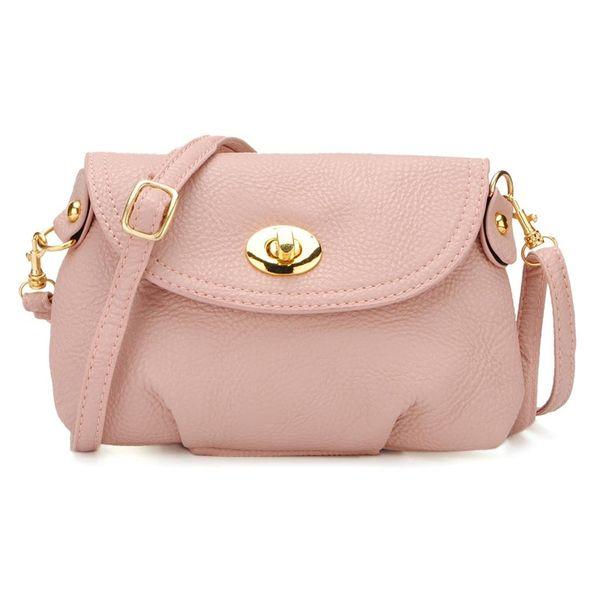 Pink Bolsos Feminina Vintage Small Crossbody Bag Female Messenger Shell Bag Women Handbags Cellphone Pockets Mini Coin Purses #187317