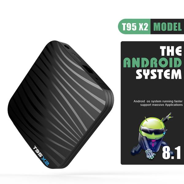 Android 8.1 TV Box 2GB 16GB Amlogic S905X2 Quad Core Mini PC Android8.1 Set TV Box 2.4G Wifi Streaming Media Player