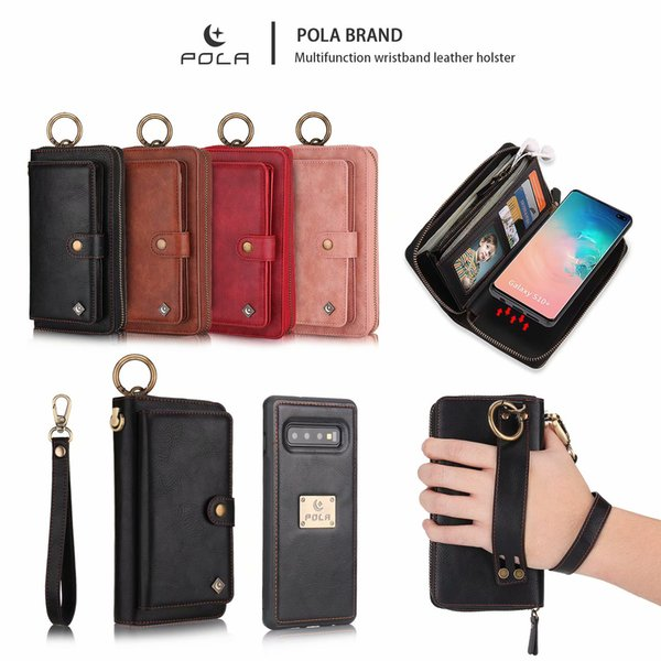Wallet Cover Fits Samsung S7 S8 S9