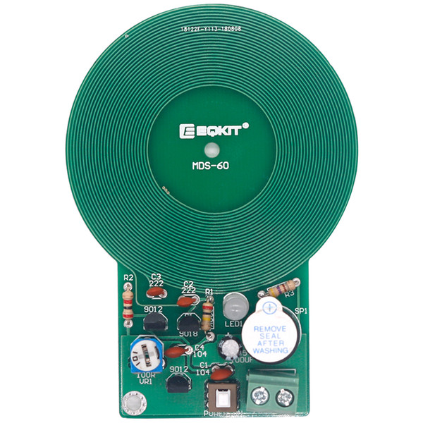 Détecteur de métaux Kit DIY Kit Électronique DC 3V-5V 60mm Module de Conseil Capteur de non-contact DIY Partie Électronique Détecteur De Métal