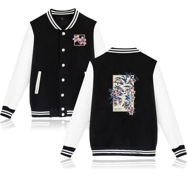 Canadian male singer shawn mendes Same name album 2D print Casual Baseball sweatshirt Hot Sale Baseball Jacket Men/Women Clothes