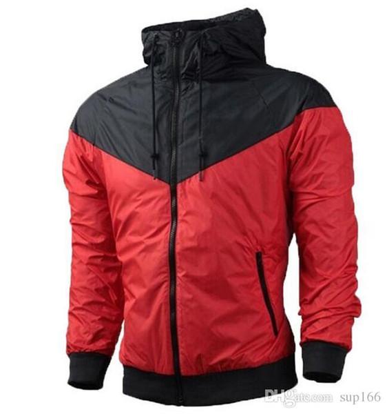 Automne Hommes Femmes Veste Manteau sport Sweat à capuche avec manches longues Zipper coupe-vent Vêtements pour hommes Hauts Pulls à capuche