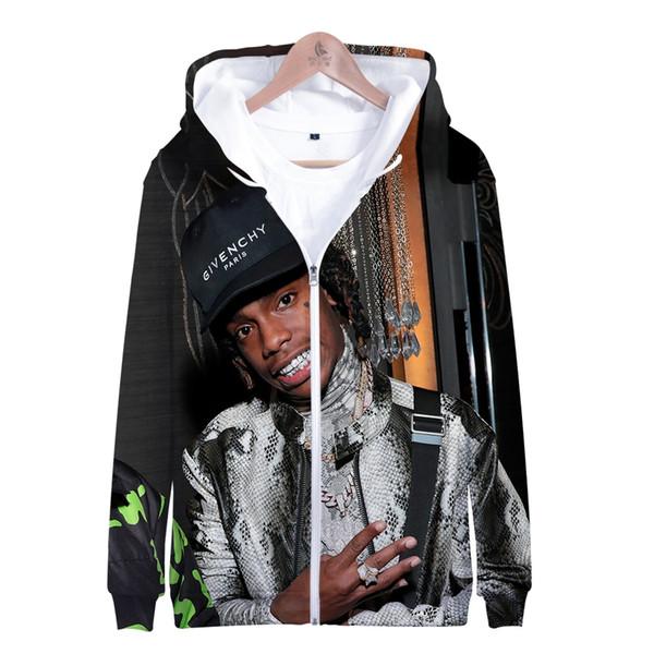 2019 YNW Melly Fashion Hot Sale Kpop Sweatshirts Men and Women Tops Hoodies Harajuku Autumn Casual Long Sleeve 3D Print