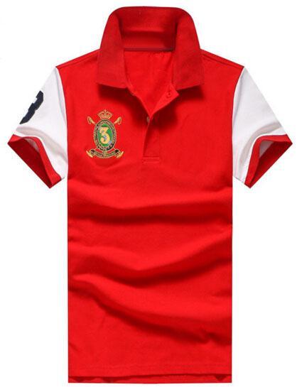 Express 2019 Men Casual Polo Shirts Big Pony Embroidery Short Sleeve Business Polos Cotton Polo Shirt Drop Shipping.
