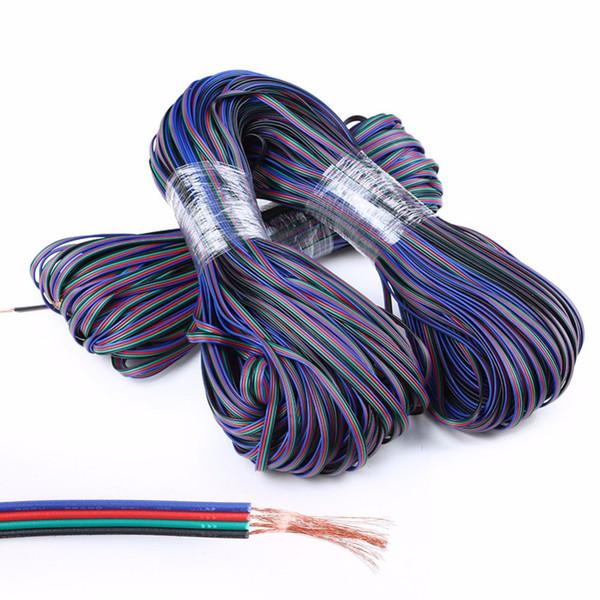 100M RGB 4Pin Verlängerungskabel Kabel Für 3528 5050 RGB LED Streifenbeleuchtung Verlängerungskabel Verbindungskabel