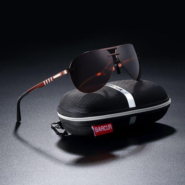 Barcur Pilot Polarize Güneş Gözlükleri Erkekler Sürüş Güneş Gözlüğü Marka Tasarımcısı Spor EyewearSH190721