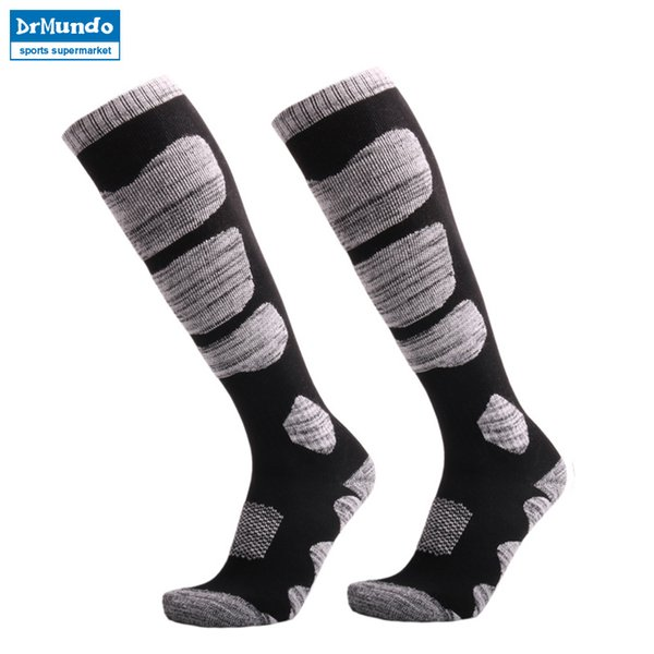 3 pairs Winter Warm Men Women Thermal Long Ski Socks Stockings Thicken Sports Breathable Outdoors Skiing Socks