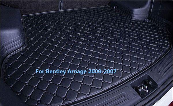 Waterproof Car Rear Cargo Boot Trunk Cargo liner Mat Pad New For Bentley Arnage 2000-2007